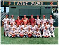 The 2006 Lowell H.S. Cardinals at SBC Park.