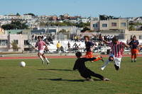 Composed Clay Cruises to First of Four Goals v Balboa