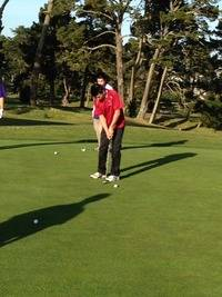 Alex Hsiao Sinks the Putt