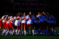 2013 Lowell Cardinals Huddle for Traditional Pre-Match Cheer